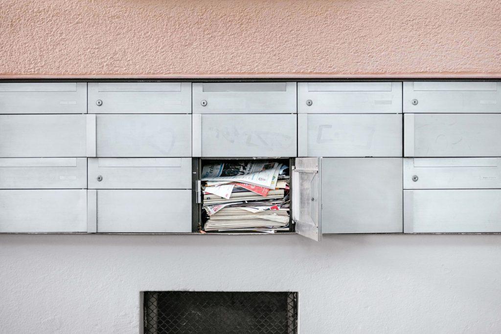 преливаща пощенска кутия