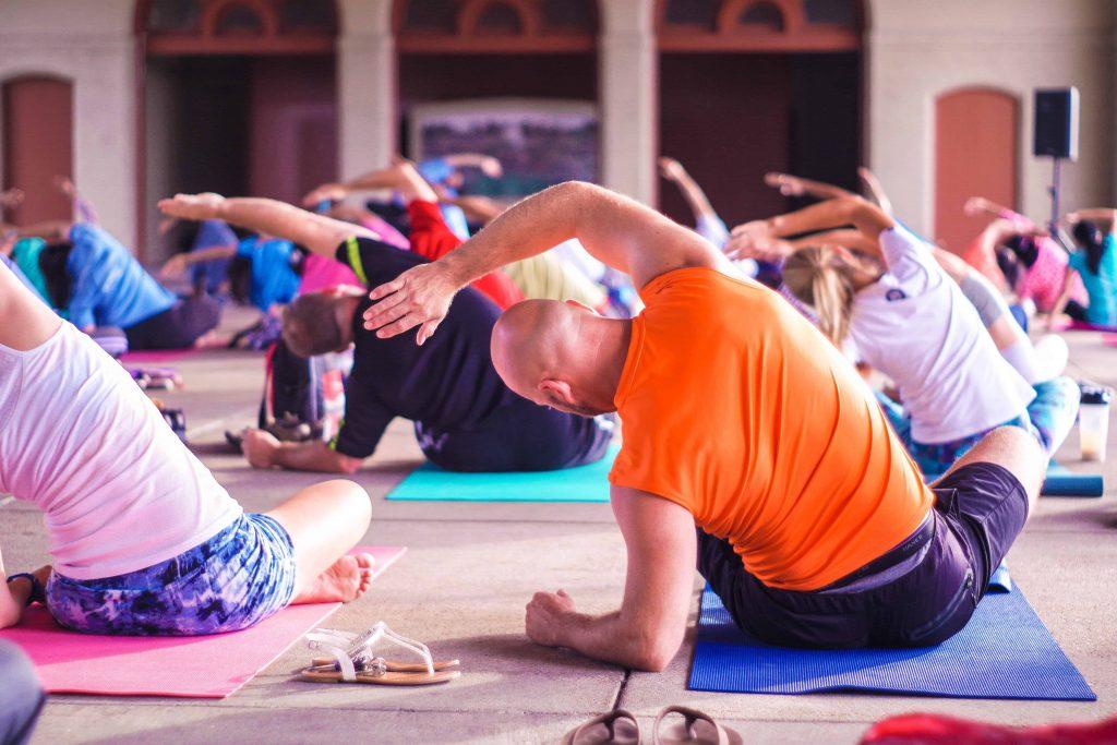 урок по йога