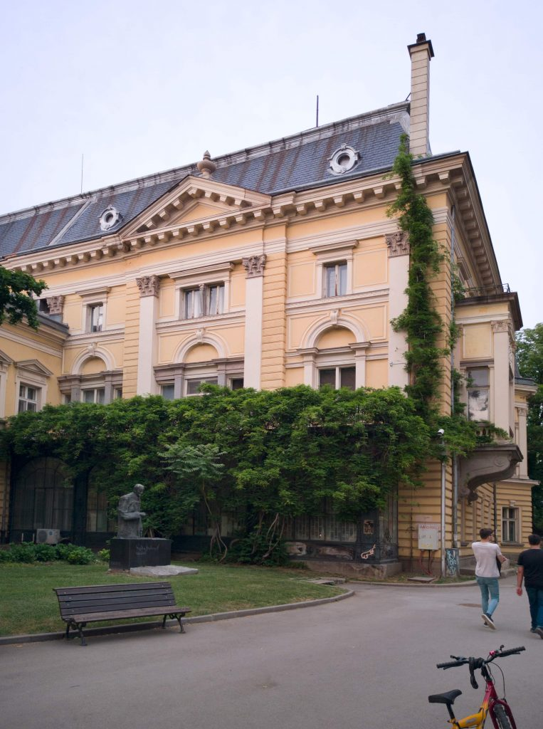 Царският дворец в София, източно крило
