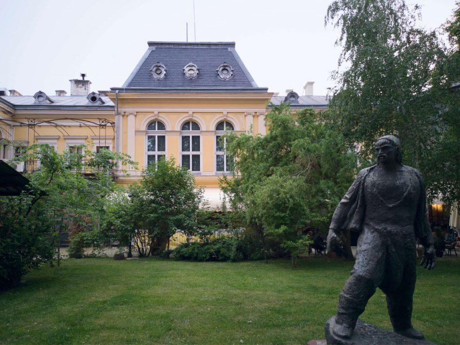 Двореца в центъра на София