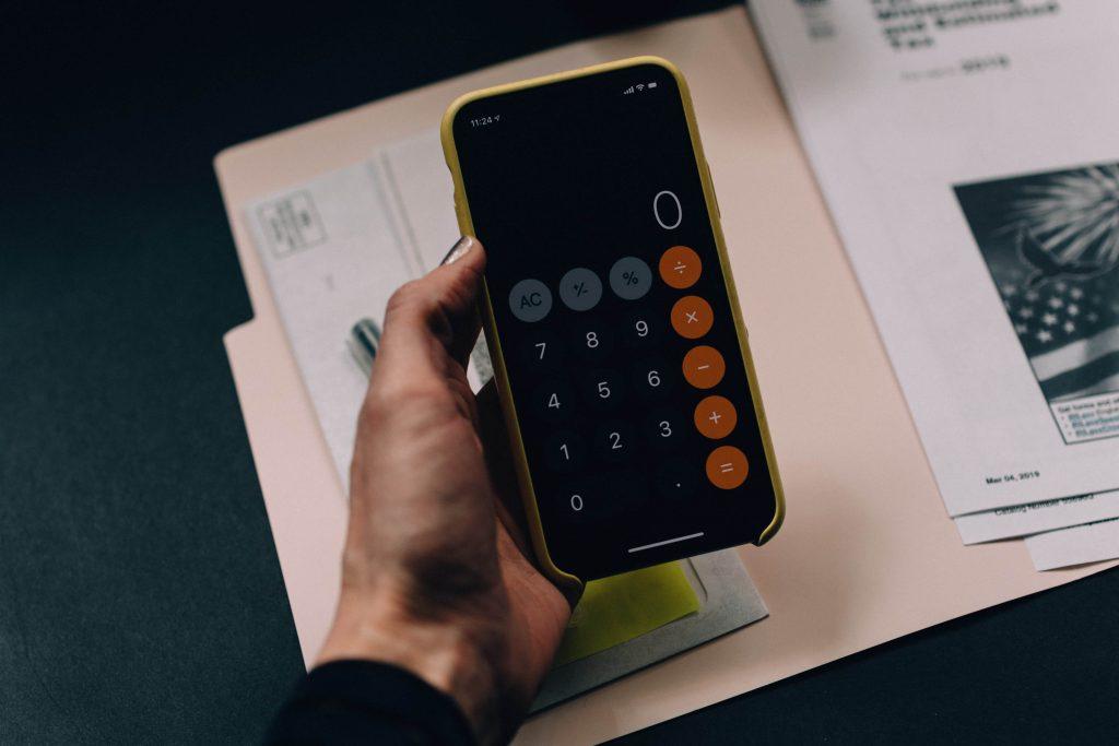 калкулатор и документи за определяне на бюджет