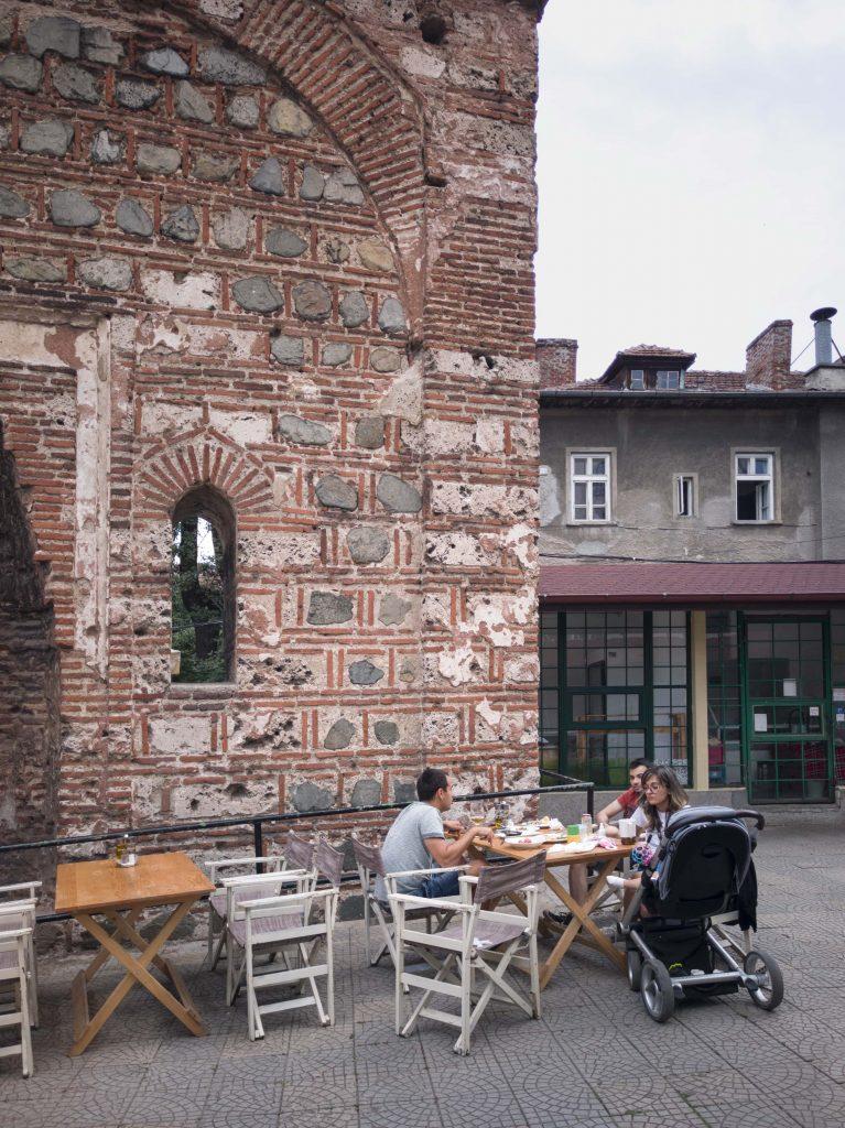 Римската стена в Лозенец