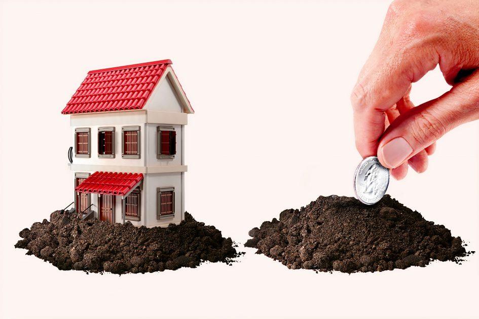 да заровиш паричка в пръстта, за да поникне имот