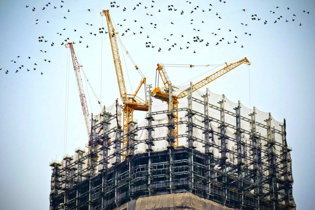 строеж във финален етап на развитие