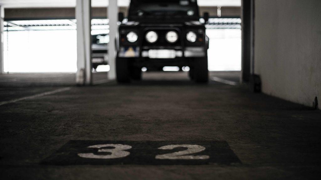 паркомясто 32 в подземен паркинг