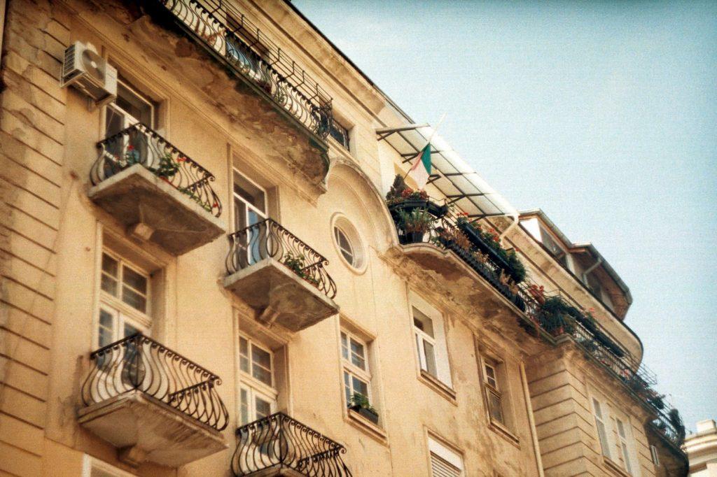 жилищна сграда в центъра на София