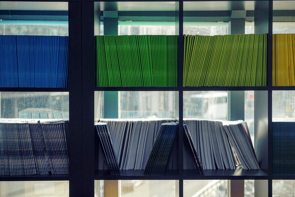 папки с документи